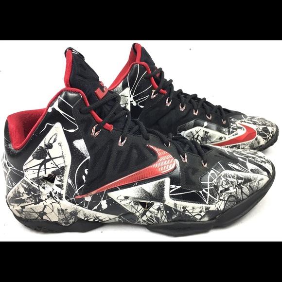 half off 3818b 31cfb Nike Lebron 11  Graffiti  Men s Basketball Shoes. M 5a5698188df470632700113b